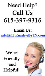 Call Us. CPR Nashville