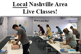 American Heart Association CPR training in Nashville TN